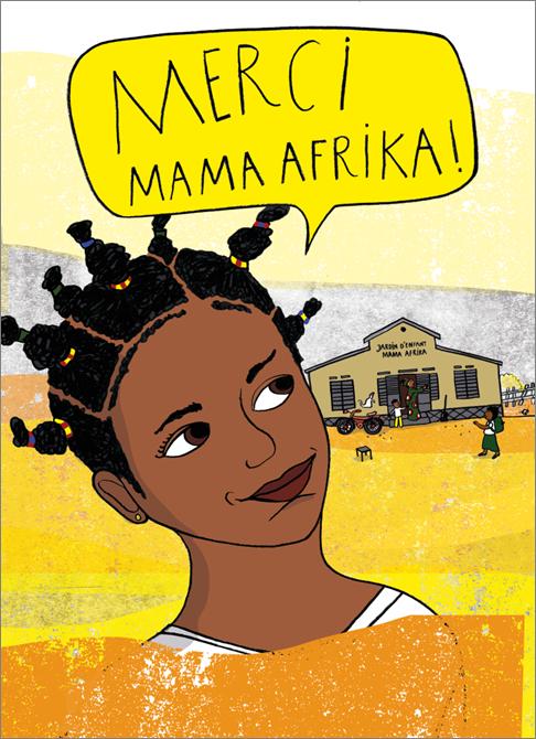 Mama Afrika sagt NEIN zur weiblichen Genitalverstümmelung