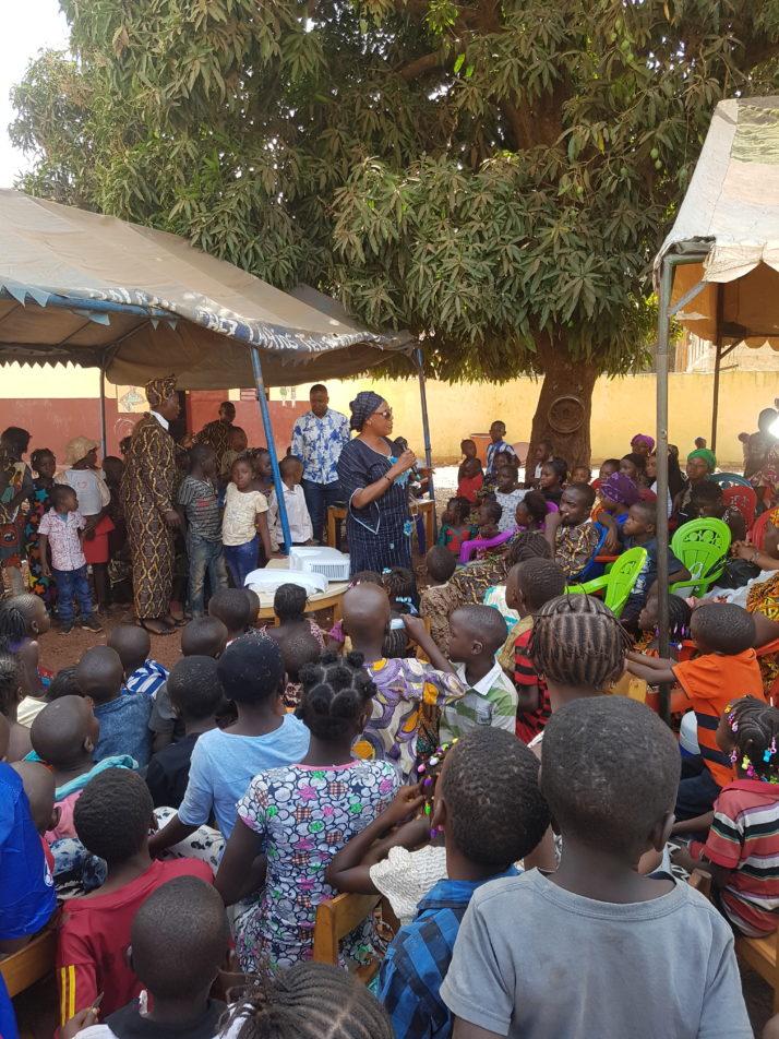 Kindergarten in Kankan Guinea Infoveranstaltung2