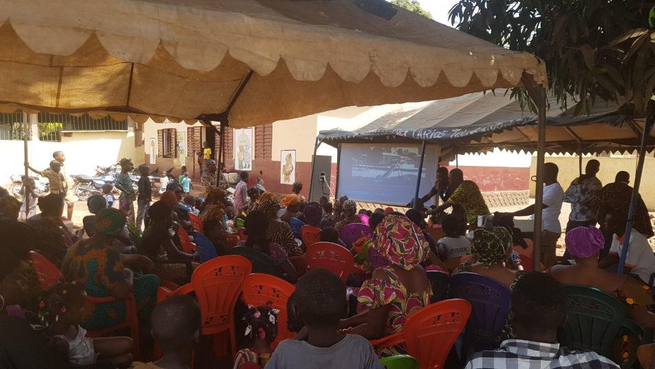 Kindergarten in Kankan Guinea Infoverstaltung1