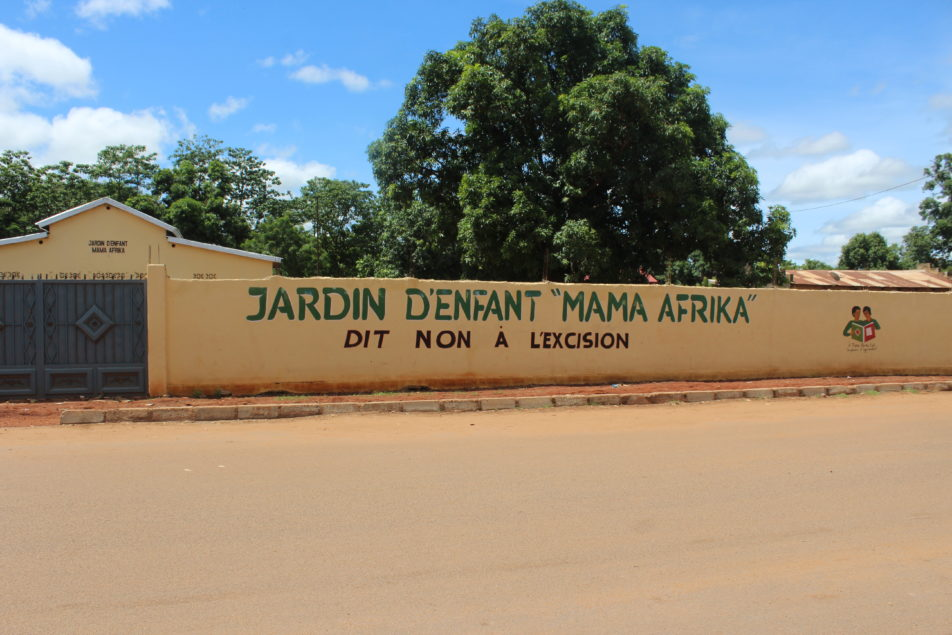 Kindergarten in Kankan Guinea Aussenfassade